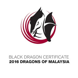 Black Dragon Certificate 2016 Dragons of Malaysia