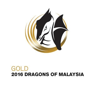 Gold 2016 Dragons of Malaysia