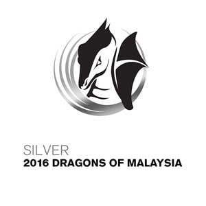 Silver 2016 Dragons of Malaysia