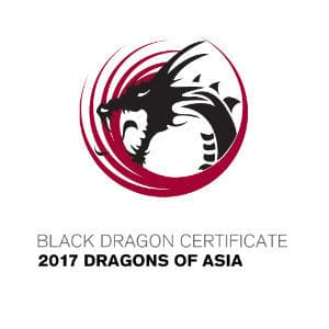 Black Dragon Certificate 2017 Dragons of Asia