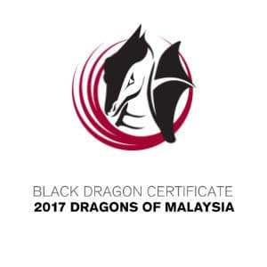 Black Dragon Certificate 2017 Dragons of Malaysia